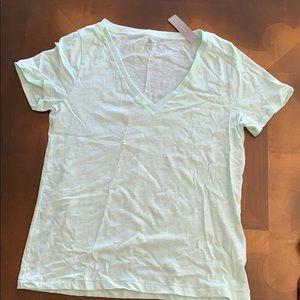Brand new JCrew vintage t-shirt. Light green. NWT